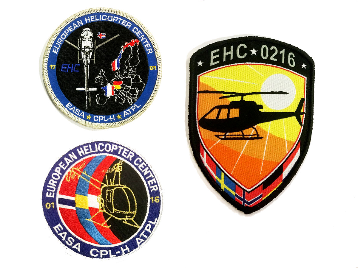EHC student – show me your patch!