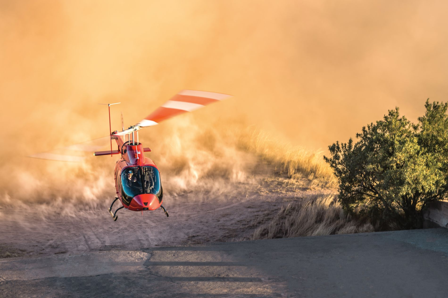 Bell 505 JRX demo